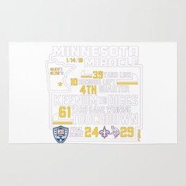 Minnesota Miracle Rug