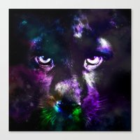 panther Canvas Prints featuring Panther by haroulita