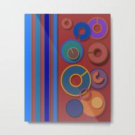 Abstract #54 Metal Print