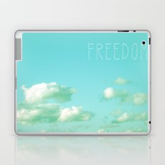 Freedom over Clouds Laptop & iPad Skin