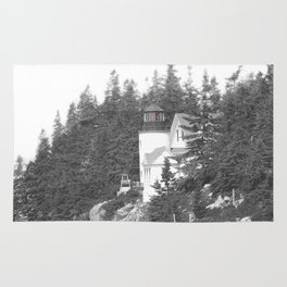 Lighthouse photography landscape Rug