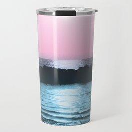 Sunset Ocean Bliss #5 #nature #art #society6 Travel Mug