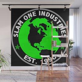Slam 1 Industries World Wide Wall Mural