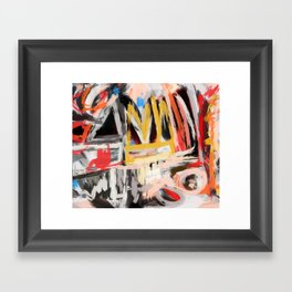 The king was there Framed Art Print