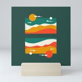 Pencil Scapes 17 Mini Art Print