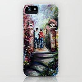 Romantic Landscape iPhone Case