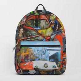 Il traffico di Palermo Backpack
