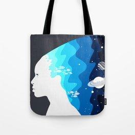 Marina in the Sky Tote Bag