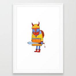 Fau Framed Art Print