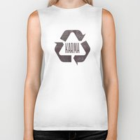 karma Biker Tanks featuring karma by manish mansinh