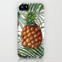 King Pineapple iPhone Case