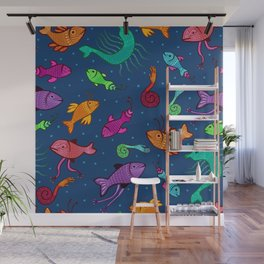 extraordinary sea creatures Wall Mural
