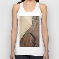 umbrella Tank Tops featuring Umbrella by Maite Pons