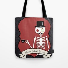 Monsieur Skeleton Tote Bag