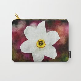 Textured Narcissus. Carry-All Pouch
