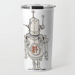 JunkBot in Red MK1 Travel Mug