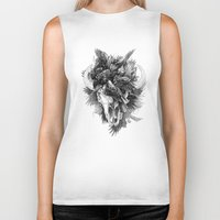 cycle Biker Tanks featuring Cycle by April Schumacher