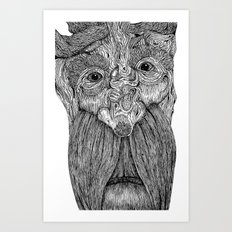 Tree Person Art Print