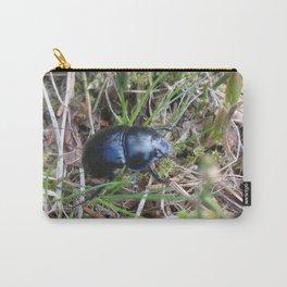 Black Beetle portrait Carry-All Pouch