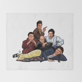 The Nothing Club Throw Blanket