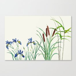 pond-side elegance Canvas Print