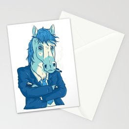 Cool Business Horse Stationery Cards