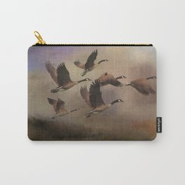 Wild Geese at Dawn Carry-All Pouch
