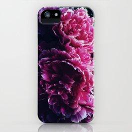 Peony Passion 3 iPhone Case