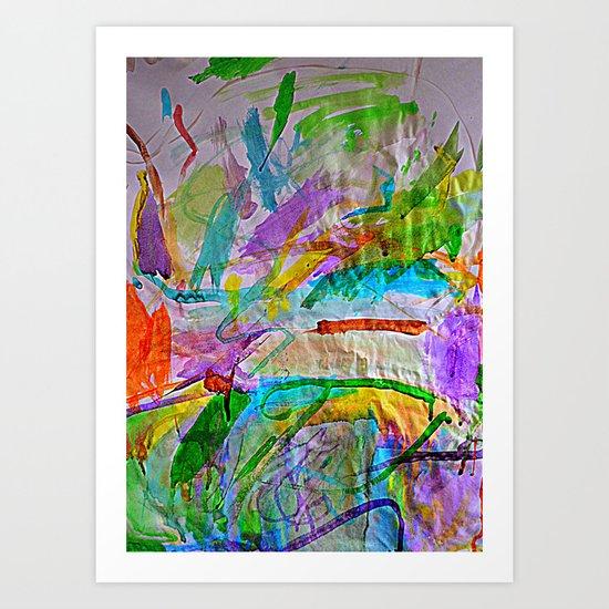 Lily's Watercolor Art Print