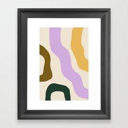 Sierra II - Bold Abstract Framed Art Print