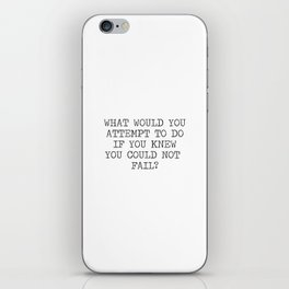 What would you attempt iPhone Skin