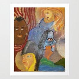Madres y las Tres Leches Art Print
