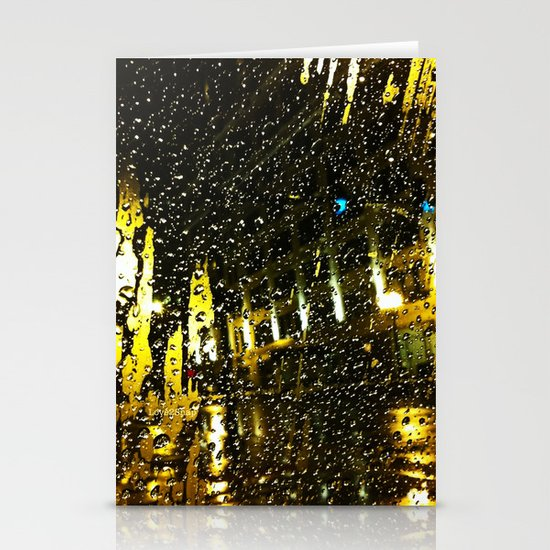 And it rained all night Stationery Cards