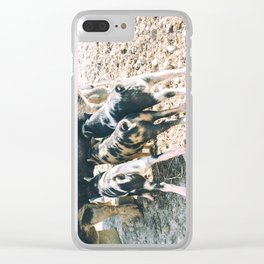 The Line Up Clear iPhone Case