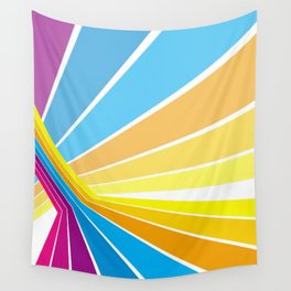 Stripes universe Wall Tapestry