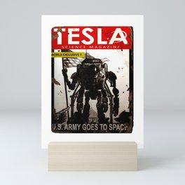 Fallout 76 Screenshot.Tesla magazine. Notebook Mini Art Print