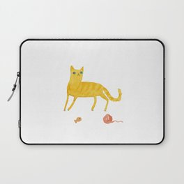 Nice Ginger Cat Laptop Sleeve