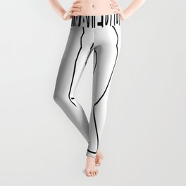 Motivated Dedicated Fearless Fire Rescue Leggings