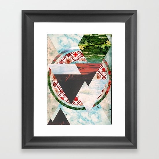 Experimental Abstraction Framed Art Print
