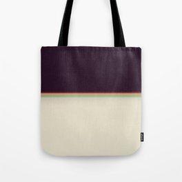 Retro rainbow#leak#light#effect Tote Bag