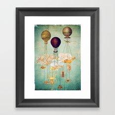 High in the Sky Framed Art Print