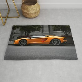 Sports Car Rug
