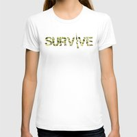 army T-shirts featuring Survive (Army) by eARTh