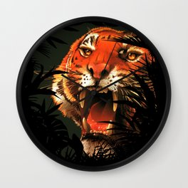 The tiger inside me ... Wall Clock