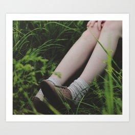 Footing Art Print