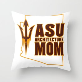 ASU Mom Throw Pillow