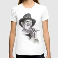 freddy krueger T-shirts featuring Freddy krueger nightmare on elm street by calibos