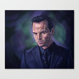 Person of Interest (Jim Moriarty) Canvas Print