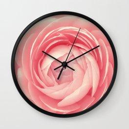 Pink flower 127 Wall Clock