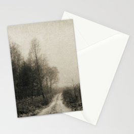Snowfalls Gone By Stationery Cards